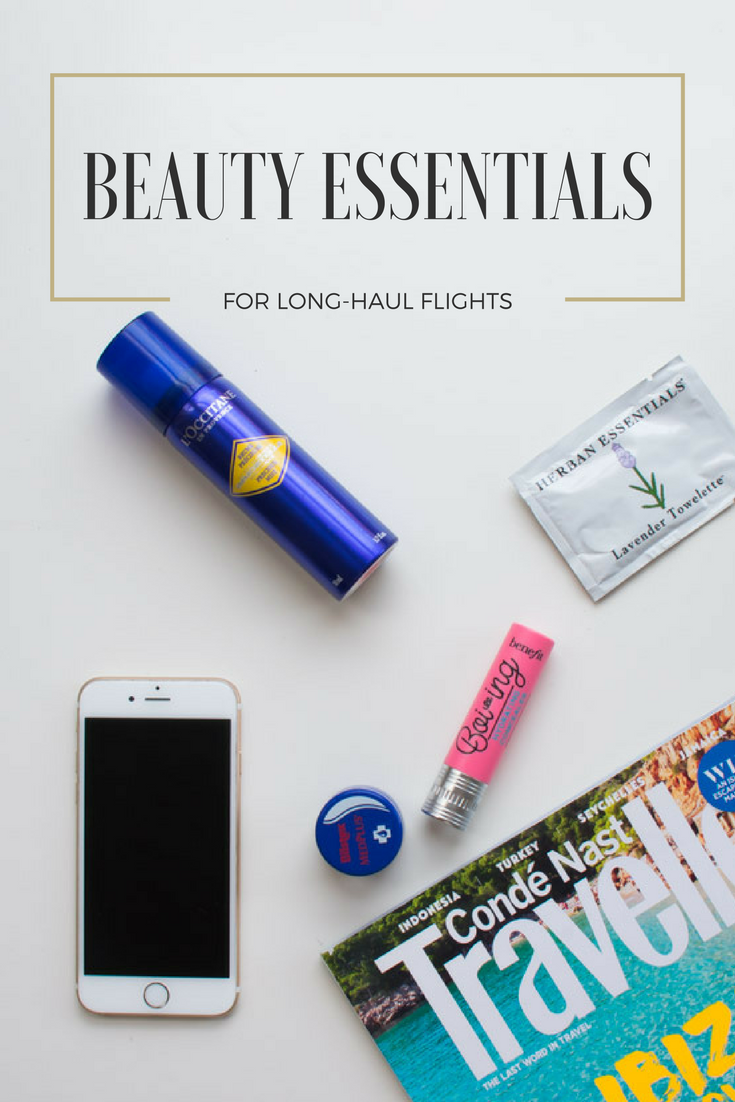 Beauty Essentials for Long-Haul Flights - Must-Have Travel Beauty Essentials - Airplane Beauty Essentials