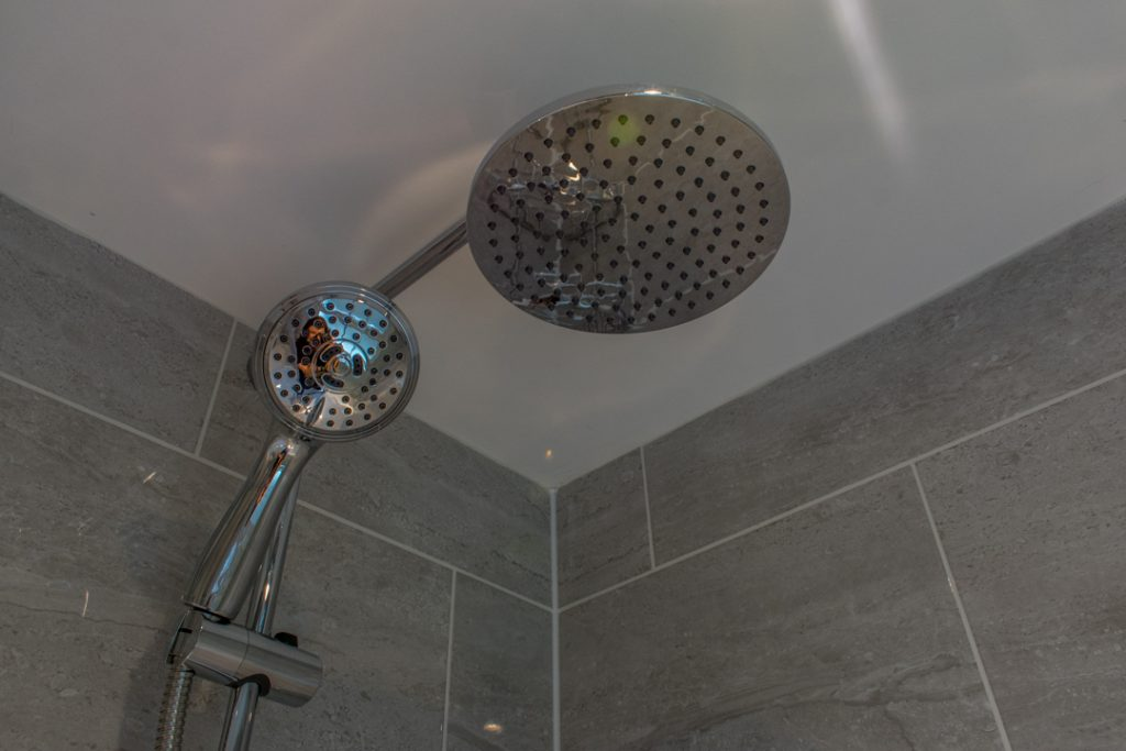 London Bathroom Renovation - Grey on Grey Bathroom - Modern Bathroom Renovation - The Bath Store Bathroom