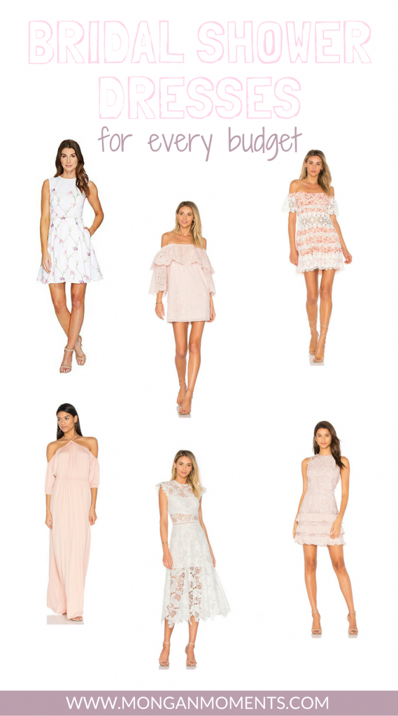 Bridal Shower Dresses for Every Budget | What to Wear to your Bridal Shower | Bridal Dresses | The Best White Dresses