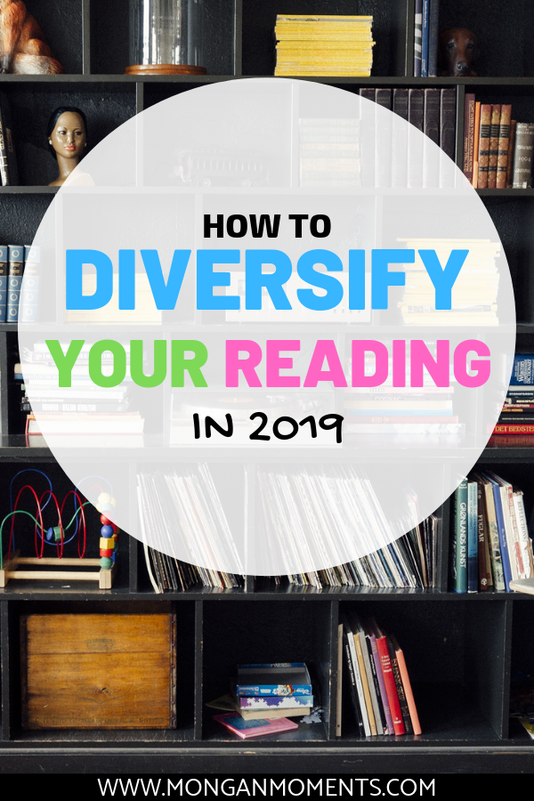Join the 2019 Diversify your Reading challenge - Challenge yourself to read 12 different genres in 2019
