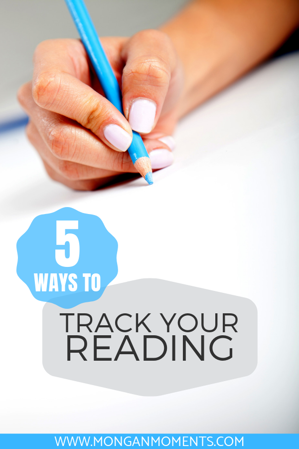 5 methods to track your reading in 2019 and beyond; keep track of the books you read and your reading goals