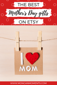 Wonderful Etsy gifts to give you mom this mother's day