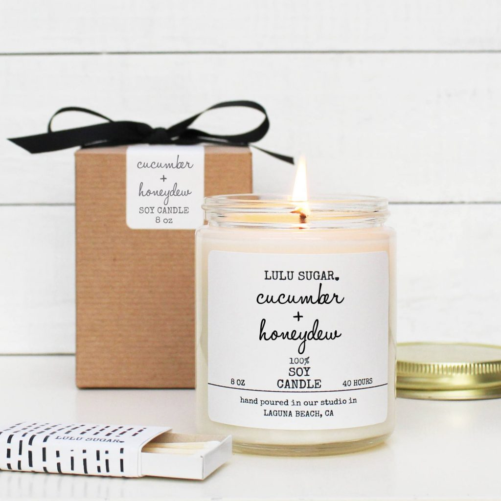 Lulusugar Candle Etsy - Mother's Day Gift Guide
