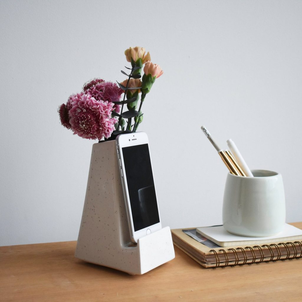 Etsy Phone Vase for Mother's Day