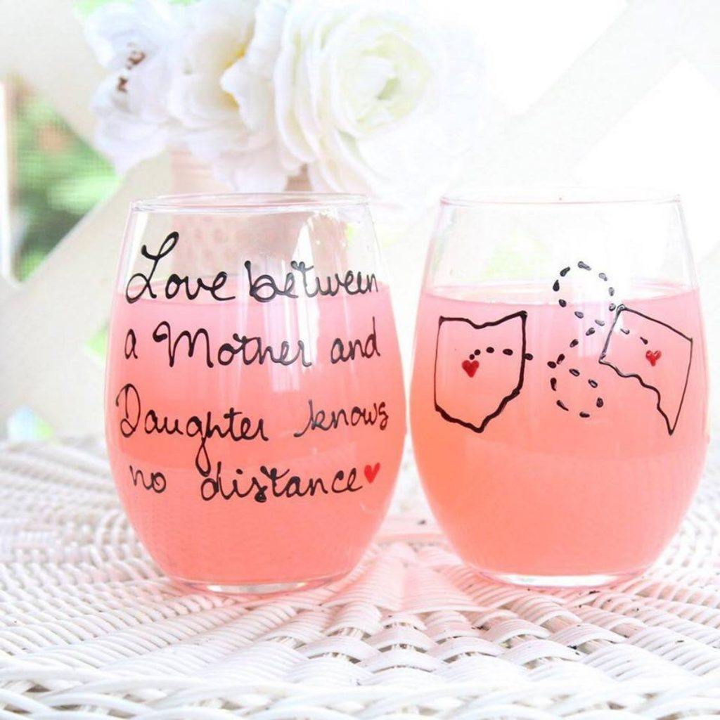 Wine Tumbler from Etsy - Mother's Day Gift Guide