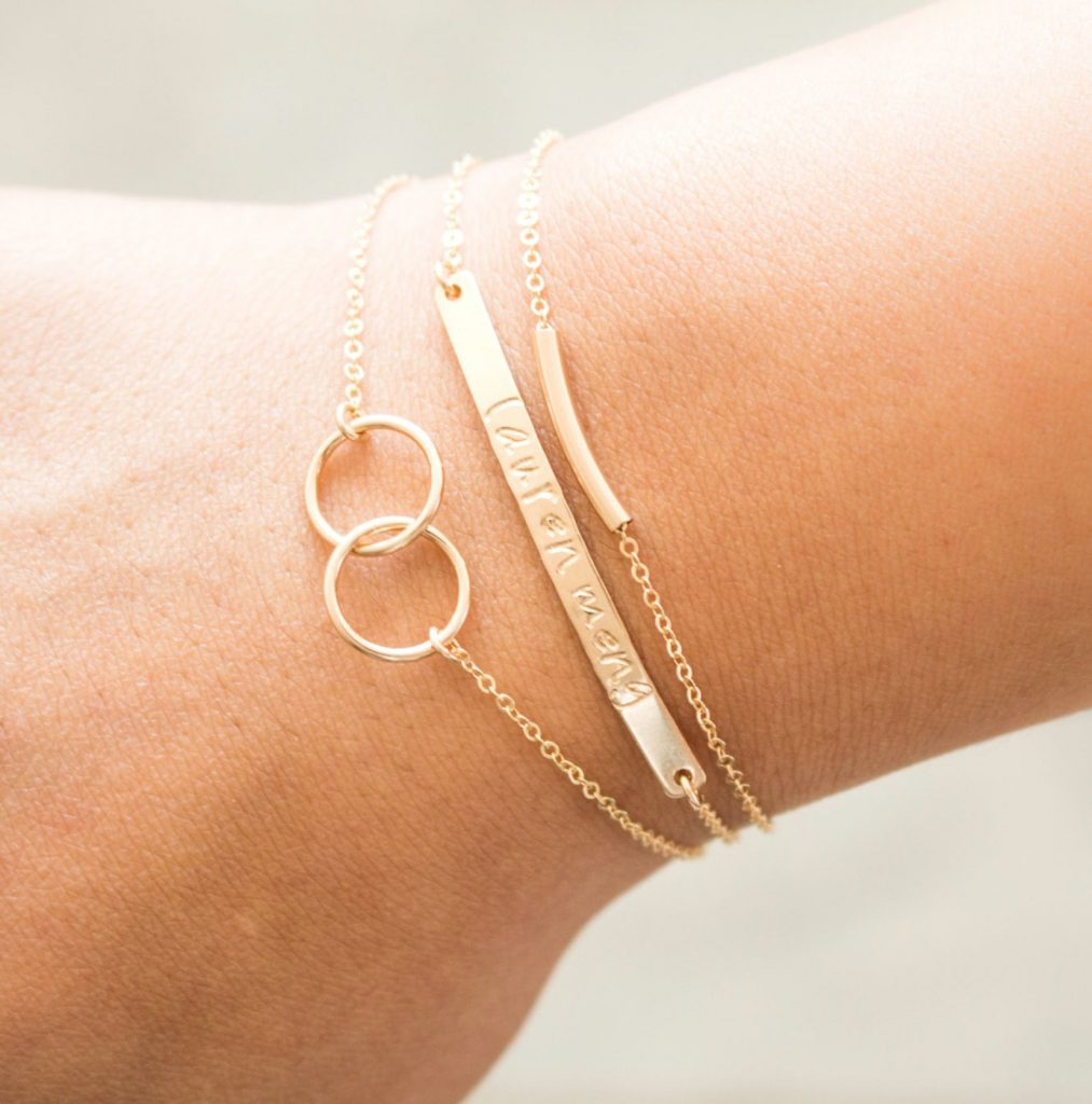 Personalized Bracelet Stack Etsy - Mother's Day Gift Guide